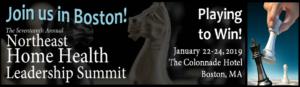 Northeast Home Health Leadership Summit @ The Colonnade Hotel | Boston | Massachusetts | United States